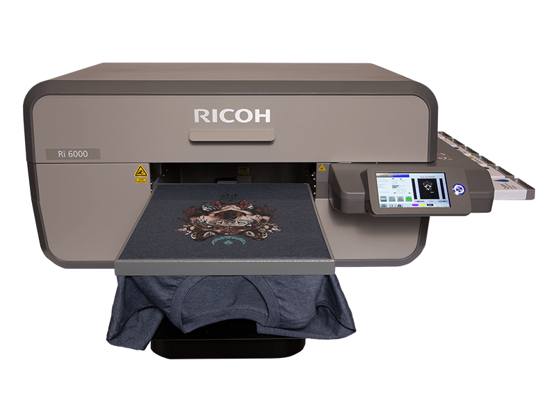 RICOH Ri 3000/6000 Direct to Garment Printer